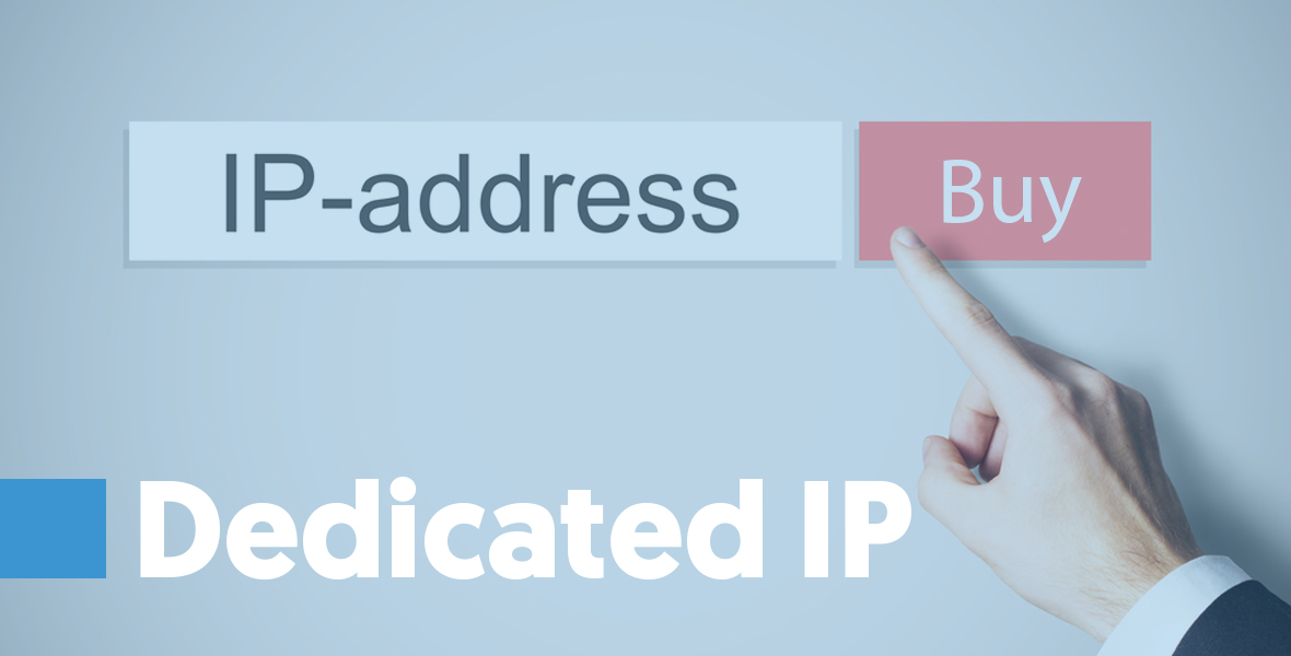 Dedicated IP A dedicated IP is one that is used by a single sender. You need to purchase the IP, maintain it and take care of everything related to that IP. It's great for serious email marketers who know how to maintain a good sender reputation.