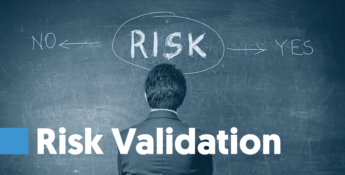 Risk Validation Some companies like Email List Verify offer a blacklisting risk validation. This risk validator scans your lists and notifies you of all the issues you currently have that might get you blacklisted.